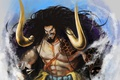 Picture akuma from mi, game, anime, pirate, powerful, One Piece, the strongest man in the world, ...