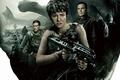 Picture cinema, gun, robot, weapon, alien, movie, film, rifle, human, Alien: Covenant