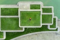Picture lawn, from the height of bird flight, Montreal, drone, dude, drone view wallpaper, from the ...