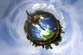 Picture earth, nature, sky, peace, bird, save earth