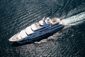 Picture sea, superyacht, Titania, Motor Yacht