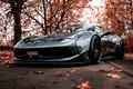 Picture Auto, Autumn, Machine, Grey, Grey, Ferrari, Supercar, Ferrari 458, Mike Crawat Photography, Mike Crawat, MUMU ...