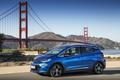 Picture blue, Opel, Ampera, Metallic, Opel, Blue, road, mountains, bridge