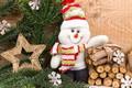 Picture snowman, Xmas, New Year, snow, snow, winter, Merry Christmas, Christmas, snowflakes, snowman, Christmas, decoration, winter