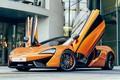 Picture design, the building, car, McLaren 570S