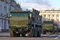 Picture parade, Russia, military equipment, Typhoon, universal, KAMAZ-63968, increased security of patency, armored car
