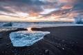 Picture ice, shore, sea