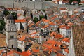 Picture tile, tower, the bell tower, Croatia, home, Dubrovnik, roof