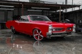 Picture car, Pontiac Gto, 1967, red, coupe