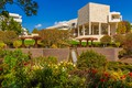 Picture USA, the sky, the sun, The Getty Museum, Los Angeles, Museum, the bushes, trees, the ...