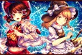 Picture girls, art, TouHou, Touhou