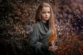 Picture the beauty, autumn, treatment, girl