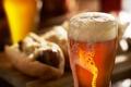 Picture Beer, glass, depth of field, foam, hot dog, drink, mug, food, photo