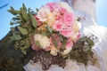 Picture flowers, roses, bouquet, the bride, wedding