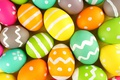 Picture colorful, Easter, happy, Easter, eggs, holiday, the painted eggs