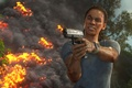 Picture fire, pistol, Uncharted: The Lost Legacy, gun, flame, weapon, Uncharted, spark, game