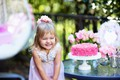 Picture girl, cake, holiday, cakes, child, joy, Birthday