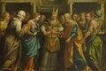 Picture canvas, mythology, oil, picture, The marriage of Mary and Joseph