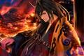 Picture horn, anime, Chain Chronicle Haecceitas no Hikari, by sanoboss, king, oni, demon, japanese, manga, kimono, ...