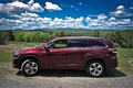 Picture the sky, trees, Toyota-highlander