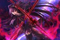 Picture weapons, Fate / Grand Order, anime, girl