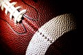 Picture Lacing, American game, White, Red, Football, Ball