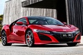 Picture NSX, Honda, red, Honda, supercar