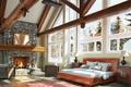 Picture Villa, interior, fireplace, bedroom