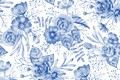 Picture Flowers, pattern, pattern, seamless, Floral, seamless