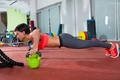 Picture female, workout, Russian workman