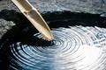 Picture macro, calm, bamboo, stem, harmony, bokeh, balance, wallpaper., tank, clean water, circles on the water, ...