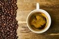 Picture foam, table, coffee, Cup, grain