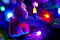 Picture lights, toy, tree, holiday