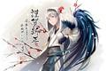 Picture anime, Dance of swords, Touken Ranbu, art, guy