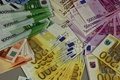 Picture euro, bills, money, Euro, currency