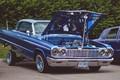 Picture car, Chevrolet, lowrider, blue, Impala