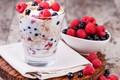 Picture berries, yogurt, dessert