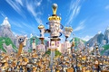 Picture film, Angry Birds, AB, birds, City of Pigs, city, Kingdom of Pigs, Kingdom of King ...