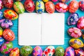 Picture spring, colorful, Easter, wood, spring, Easter, eggs, decoration, Happy, frame, the painted eggs
