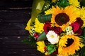 Picture flowers, sunflower, Bouquet
