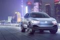 Picture car, city, Volkswagen, Volkswagen ID Crozz