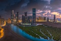 Picture clouds, Abu Dhabi, ☁, view, beauty