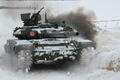Picture main, Russian, tank, combat, T-90
