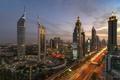Picture rfcd, UAE, Dubai, lights
