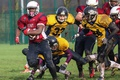 Picture sport, american football, 20 seconds to touchdown