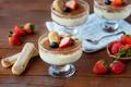 Picture dessert, strawberry, tiramisu, cookies
