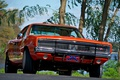 Picture 1969, Dodge, Orange, Charger, Muscle car, General Lee, The Dukes of Hazzard