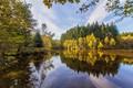 Picture landscape, nature, lake, reflection, beauty