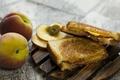 Picture Sandwich, Peaches, sandwich, Peach, Food