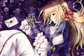 Picture roses, Violet Evergarden, girl, lies
